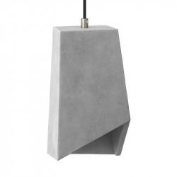 Prisma hanglamp beton