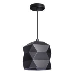 Hanglamp TRIGAMI zwart by...