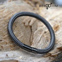 Armband van Textielsnoer -...