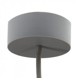 Siliconen plafondkap grijs