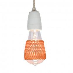 Lamp Sleeve Cognac Brown -...