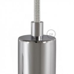 Chromen afwerking metalen design trekontlaster met schroefdraaf, moer en ringetje