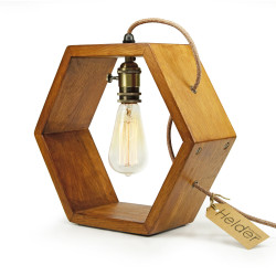 Vintshop hexagon lamp