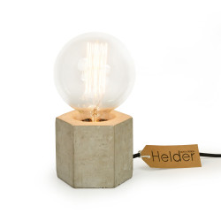 Vintshop lamp Concrete