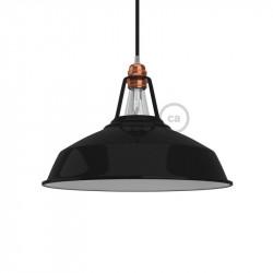 Harbour hanglamp zwart - 38 cm