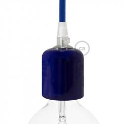 Handgemaakte Keramische fitting - Blauw glazuur