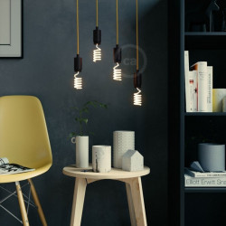 LED Art Loop Up Light Bulb 12W E27 Dimbaar 2200K