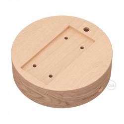 Ronde basis voor Archet (To) in natuurlijk hout