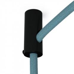 Zwarte design plafond snoerbevestiging voor strijkijzersnoer