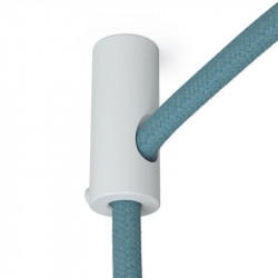 Witte design plafond snoerbevestiging voor strijkijzersnoer