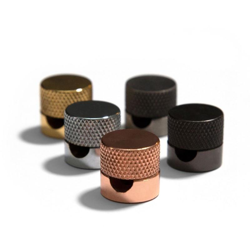 Sarè - Metalen muurgeleider voor textielkabel
