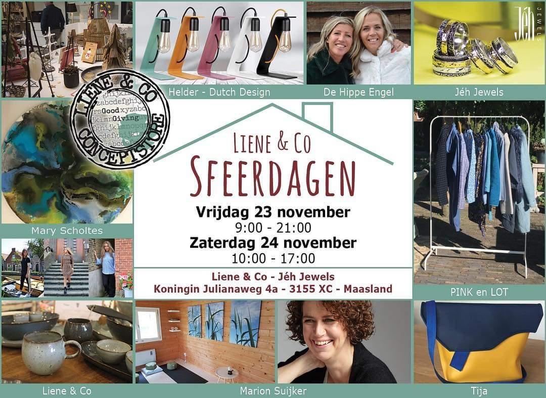Liene & Co sfeerdagen dagen 23 en 24 November