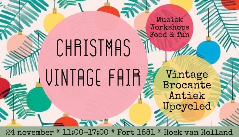 Vintshop op de HMM Vintage Christmas Fair