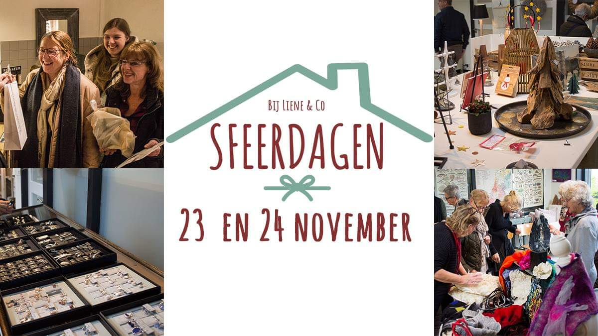 Liene & Co sfeerdagen dagen 23 en 24 November